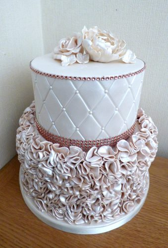 2-tier-rose-gold-ruffle-birthday-cake
