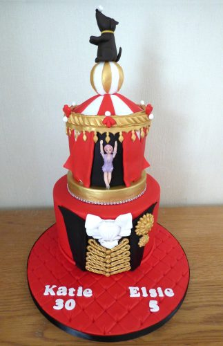2-tier-the-greatest-showman-themed-birthday-cake