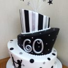 3-tier-wonky-black-white-and-silver-themed-60th-birthday-cake
