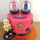 boogie-bounce-themed-birthday-cake