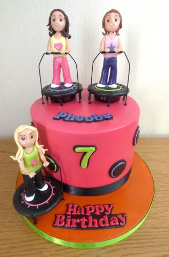 boogie-bounce-themed-birthday-cake