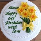 daffodil-themed-birthday-cake