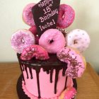 donut--chocolate-drip-cake