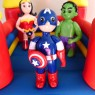 superheroes-themedbouncy-castle-birthday-cake thumbnail