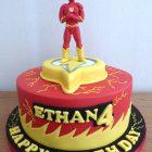 the-flash-birthday-cake