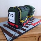 thomas-the-tank-engine-diesel-train-birthday-cake