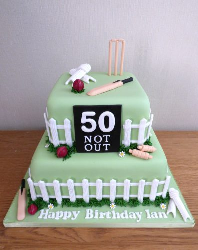 2-tier-cricket-themed-birthday-cake