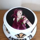 art-deco-lady-themed-birthday-cake