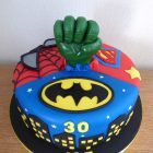 batman-spiderman-superman-hulk-birthday-cake