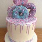 donut-drip-cake-sprinkles