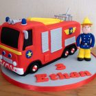 fireman-sam-fire-engine-birthday-cake