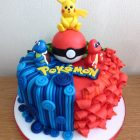 pokemon-characters-birthday-cake