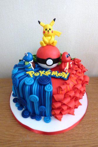 pokemon-characters-birthday-cake
