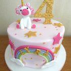 simple-unicorn-rainbow-birthday-cake