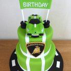 2-tier-lambourghini-kids-birthday-cake