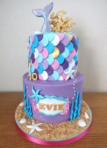 2-tier-mermaid-inspired-underwater-birthday-cake