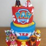 2-tier-paw-patrol-characters-birthday-cake-marshall-chase-rocky-rubble-skye-zuma thumbnail