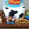 2-tier-toy-story-fondantcharacters-birthday-cake-woody-bullseye-mr-potato-head-slinky-alien thumbnail