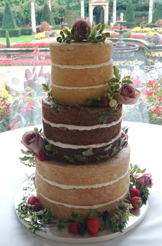 3-tier-naked-wedding-cake-with-fresh-flowers