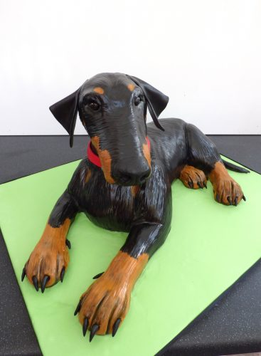 3d-dobermann-birthday-cake