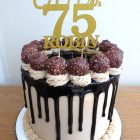 ferrero-rocher-chocolate-drip-birthday-cake