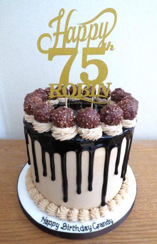 ferrero-rocher-chocolate-drip-birthday-cake