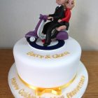 fondant-vespa-2-up-60's-theme-50th-anniversary-cake