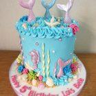 pastel-mermaid-underwater-themed-birthday-cake