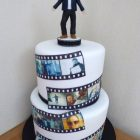 personalised-photo-reel-birthday-cake