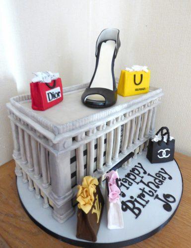 shopaholics-selfridges-building-designer-bags-louboutin-shoe-birthday-cake