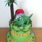 triceratops-dinosaur-pterodactyl-birthday-cake
